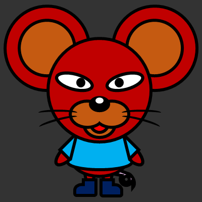 かわいいネズミのアイコン(4)画像2