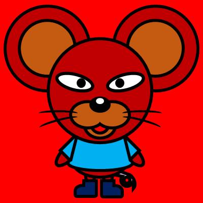 かわいいネズミのアイコン(4)画像3