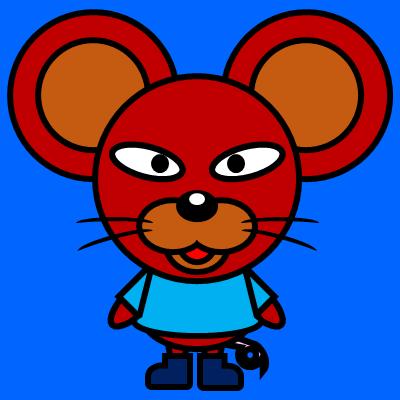 かわいいネズミのアイコン(4)画像4