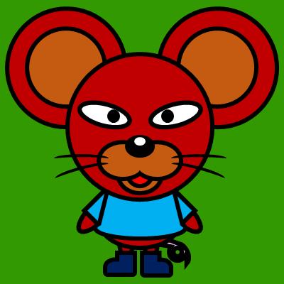 かわいいネズミのアイコン(4)画像6