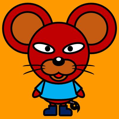 かわいいネズミのアイコン(4)画像7