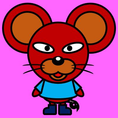 かわいいネズミのアイコン(4)画像8