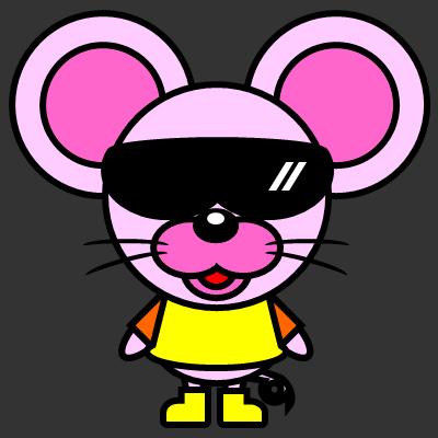 かわいいネズミのアイコン(5)画像2