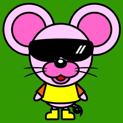 かわいいネズミのアイコン(5)画像6