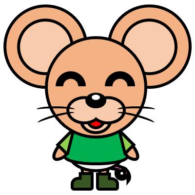 かわいいネズミのアイコン(6)画像
