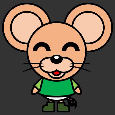 かわいいネズミのアイコン(6)画像2