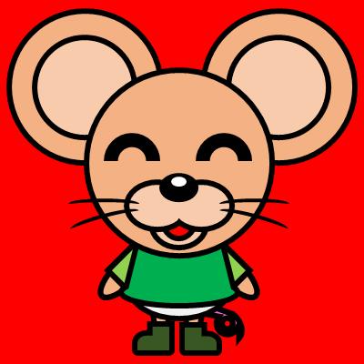 かわいいネズミのアイコン(6)画像3