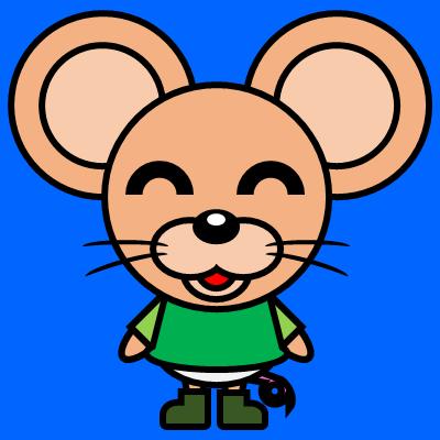 かわいいネズミのアイコン(6)画像4