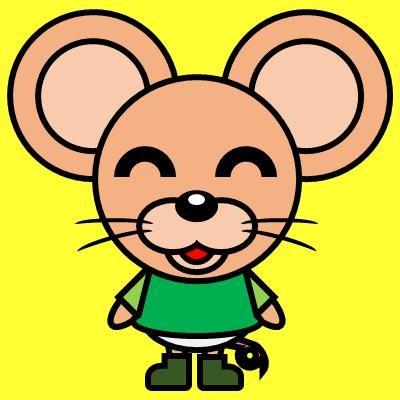 かわいいネズミのアイコン(6)画像5