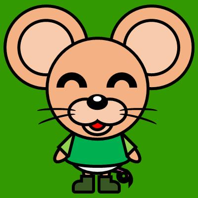 かわいいネズミのアイコン(6)画像6