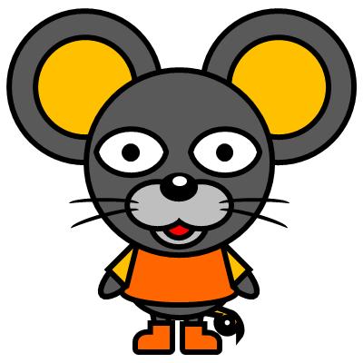 かわいいネズミのアイコン(7)画像