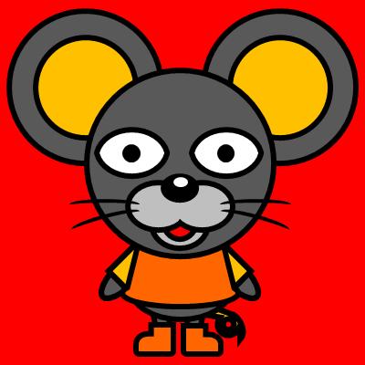 かわいいネズミのアイコン(7)画像3
