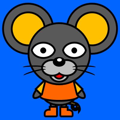 かわいいネズミのアイコン(7)画像4