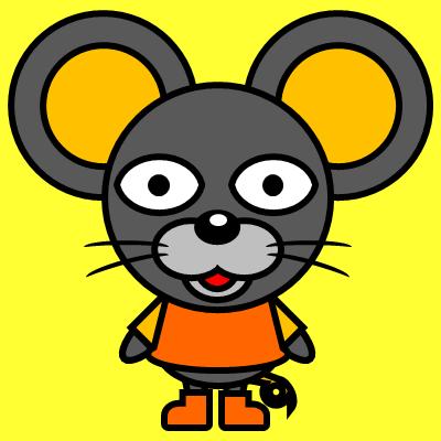 かわいいネズミのアイコン(7)画像5