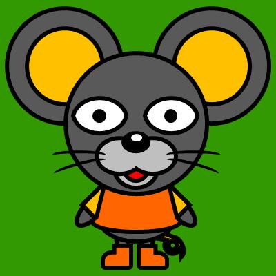 かわいいネズミのアイコン(7)画像6