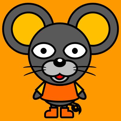 かわいいネズミのアイコン(7)画像7