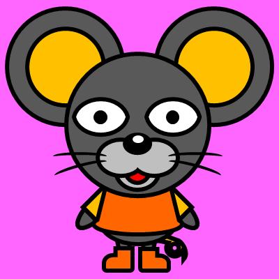 かわいいネズミのアイコン(7)画像8