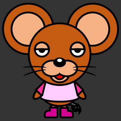 かわいいネズミのアイコン(8)画像2