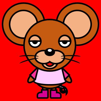 かわいいネズミのアイコン(8)画像3
