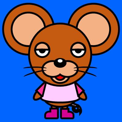 かわいいネズミのアイコン(8)画像4