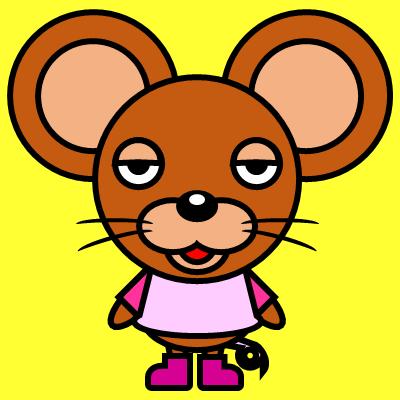 かわいいネズミのアイコン(8)画像5