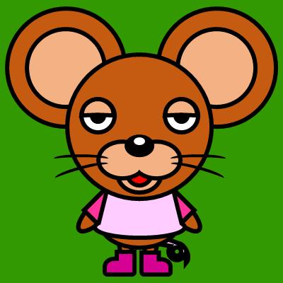 かわいいネズミのアイコン(8)画像6