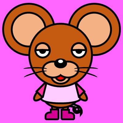 かわいいネズミのアイコン(8)画像8