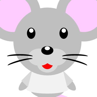 かわいいネズミのアイコン(9)画像