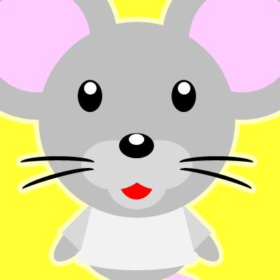 かわいいネズミのアイコン(9)画像5