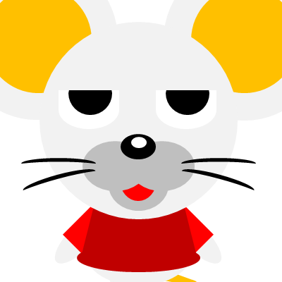 かわいいネズミのアイコン(11)画像