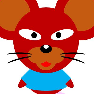 かわいいネズミのアイコン(12)画像