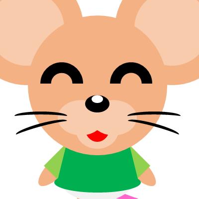 かわいいネズミのアイコン(14)画像
