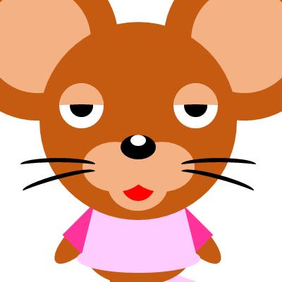 かわいいネズミのアイコン(16)画像