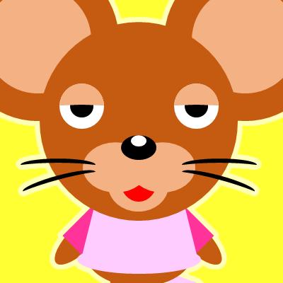 かわいいネズミのアイコン(16)画像5