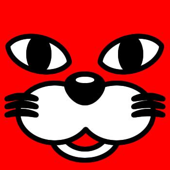 ネコの顔のアップのアイコン(1)画像3