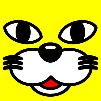 ネコの顔のアップのアイコン(1)画像5