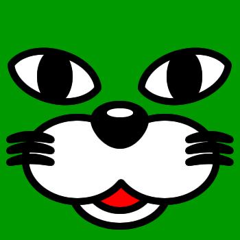 ネコの顔のアップのアイコン(1)画像6
