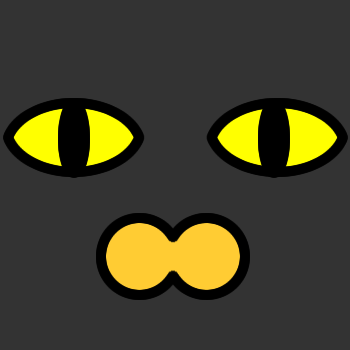 ネコの顔のアップのアイコン(2)画像2
