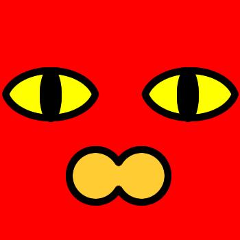 ネコの顔のアップのアイコン(2)画像3
