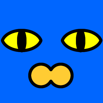 ネコの顔のアップのアイコン(2)画像4