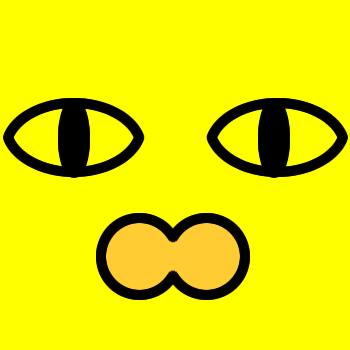 ネコの顔のアップのアイコン(2)画像5
