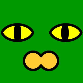 ネコの顔のアップのアイコン(2)画像6