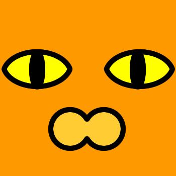 ネコの顔のアップのアイコン(2)画像7
