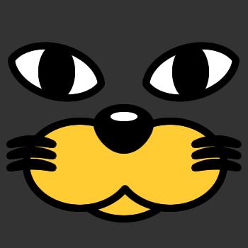ネコの顔のアップのアイコン(3)画像2
