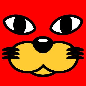 ネコの顔のアップのアイコン(3)画像3