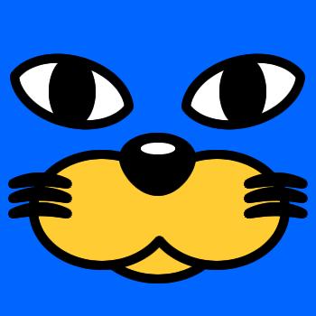 ネコの顔のアップのアイコン(3)画像4