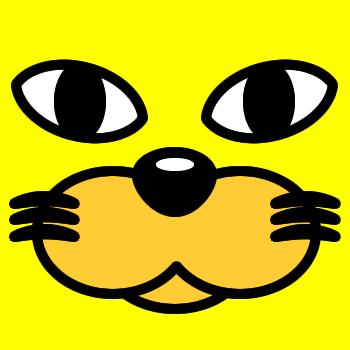 ネコの顔のアップのアイコン(3)画像5