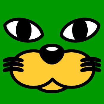ネコの顔のアップのアイコン(3)画像6