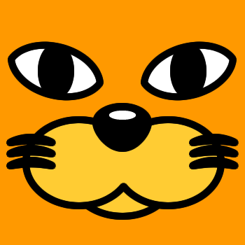 ネコの顔のアップのアイコン(3)画像7