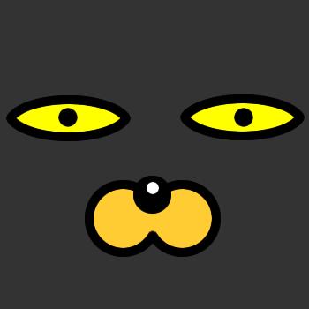 ネコの顔のアップのアイコン(4)画像2